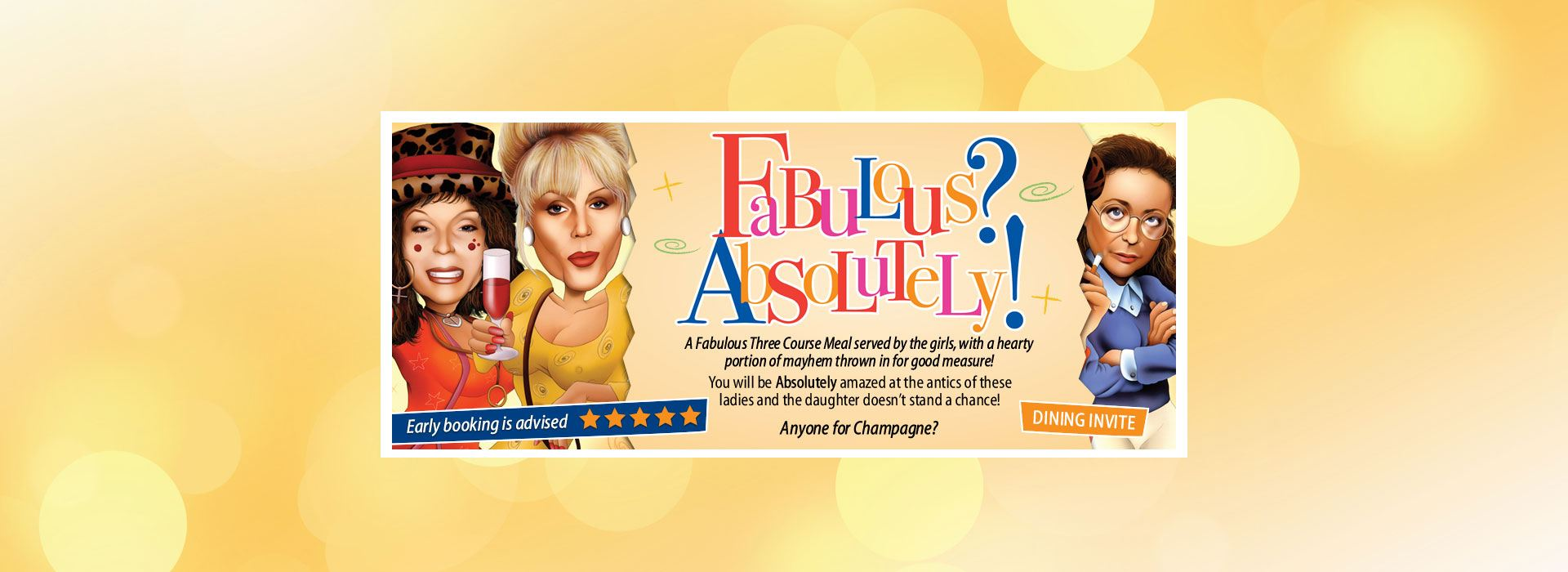 AbFab from Comedy Dining