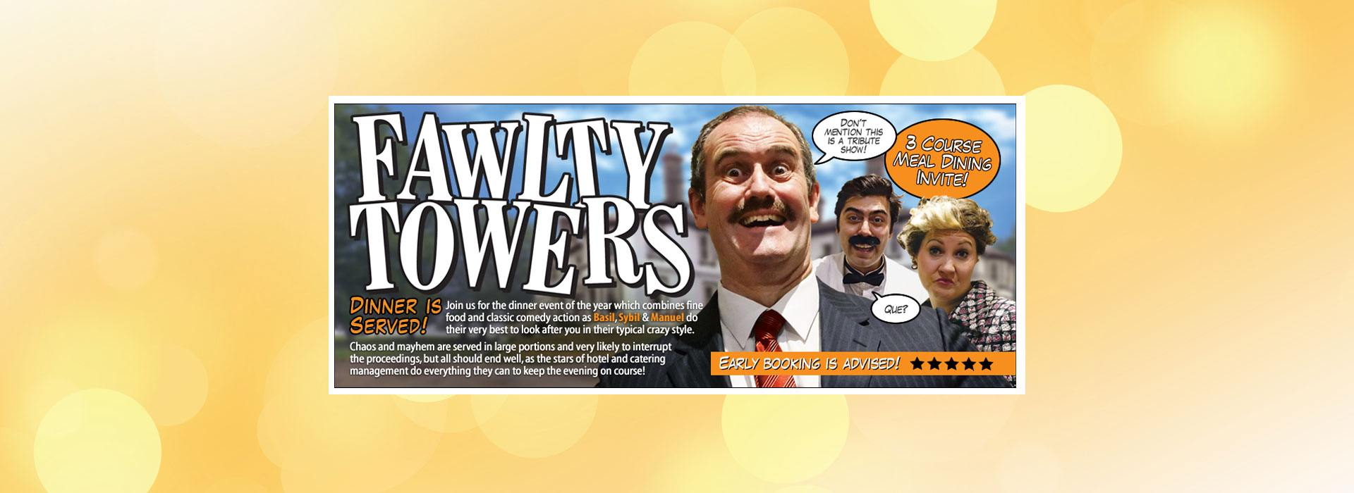 Fawlty Towers Dinner Show 21 07 2018 Comedy Dining