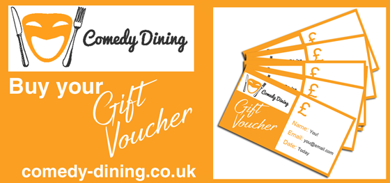Buy Comedy Dining Gift Voucher