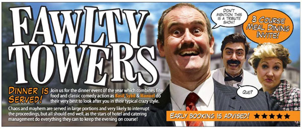 Fawlty Towers - Comedy Dinner